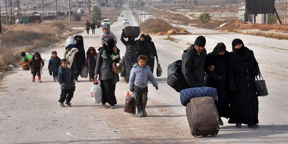 La guerra in Siria ha causato delle sofferenze inimmaginabili per la popolazione civile. ©George Ourfalian/AFP/Getty Images