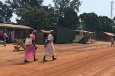 Atrocità del conflitto hanno trasformato il granaio del paese in un campo di morte