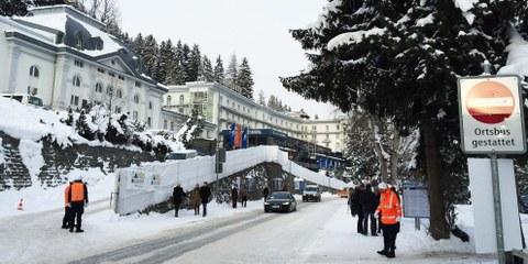 Davos, 16 gennaio 2017. ©Amnesty International