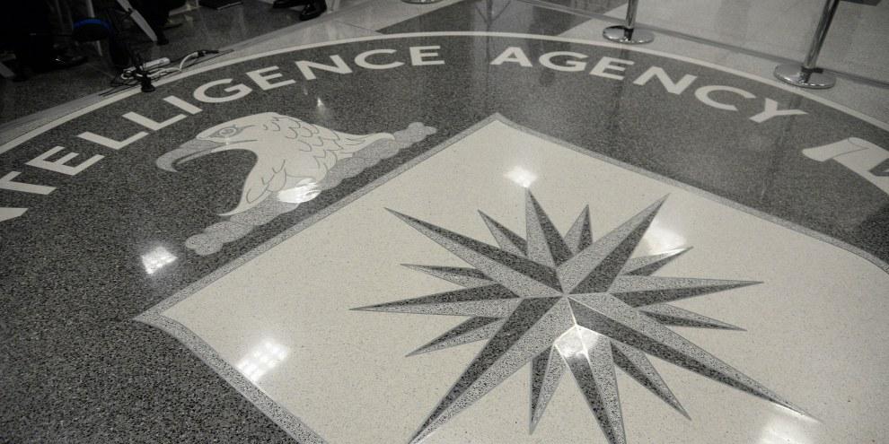Il logo della CIA © Olivier Doulier - Pool/Getty Images