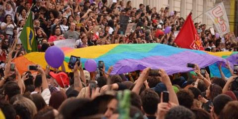 Le manifestazioni di massa come questa non hanno influenzato il voto. © shutterstock.com