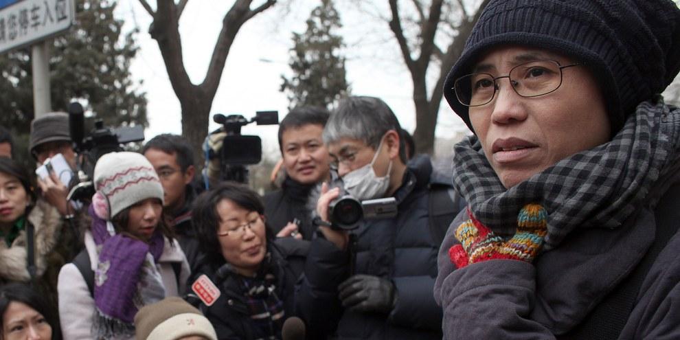 Liu Xia, vedova del Premio Nobel per la Pace Liu Xiaobo, è finalmente libera. © REUTERS/Nir Elias