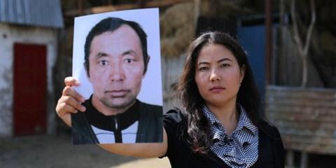 """Il padre di Bota Kussaiyn, di origine kazaka, era tornato in Cina a fine 2017, per cure mediche: la figlia ha saputo che è stato inviato in un """"campo di rieducazione"""". © AI"""