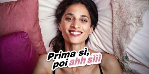 «Prima Si, poi Ah siii» – Nuova campagna di Amnesty Svizzera con Barbara Miller