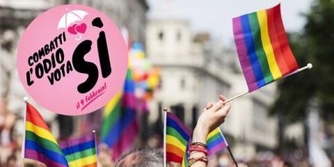 Combattiamo assieme l'odio: per un chiaro SÌ il 9 febbraio