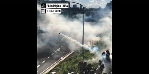 Il commercio di gas lacrimogeni favorisce le violenze da parte della polizia ovunque nel mondo