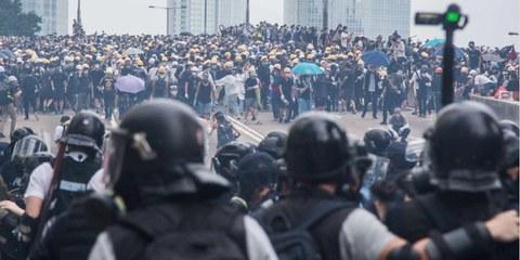 A Hong Kong i disordini sono scoppiati nell'aprile 2019, quando i manifestanti sono scesi per strada per chiedere al governo di ritirare la controversa proposta di modifca alla legge sull'estradizione. ©Jimmy Lam @everydayaphoto
