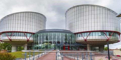 La Corte Europea dei Diritti dell'Uomo a Strasburgo, Francia. ©Shutterstock/Yuri Turkov