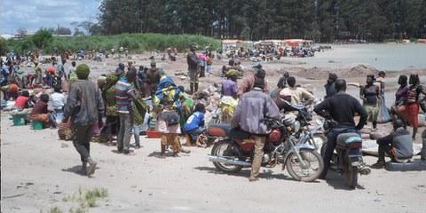 Estrazione di cobalto, un minerale utilizzato nelle batteria al litio – vicino al Lago Malo (Repubblica democratica del Congo) nel 2017. ©Amnesty International
