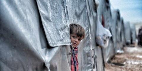 La guerra ha conseguenze devastanti sui bambini. Secondo l'UNICEF circa 12000 bambini sono stati feriti o uccisi tra il 2011 e il 2020. © Shutterstock/quetions123